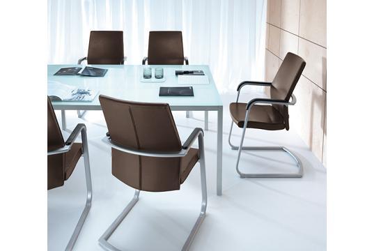 Fotele gabinetowe Active 21VL metalik PU