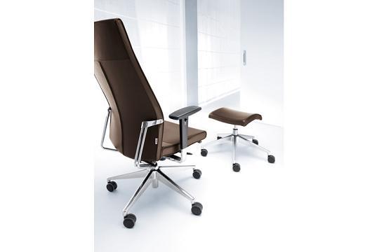 Fotele gabinetowe Active 11SL chrom P48 PU