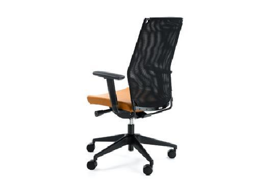 Fotele gabinetowe Perfo III 213S czarny P54PU