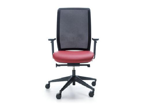 Fotele gabinetowe Veris net 100 SFL czarny P48PU