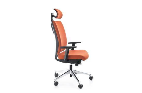 Fotele gabinetowe Veris 11SFL chrom P54PU