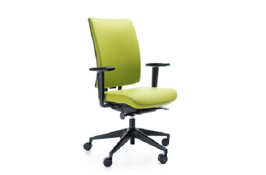 Fotele gabinetowe Veris 10SFL czarny P48PU