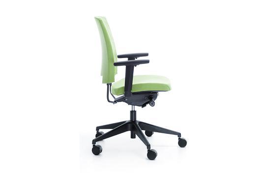 Fotele pracownicze Arca 21SL czarny P54PU