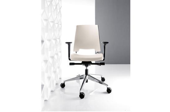 Fotele pracownicze Arca 21SL chrom P51PU