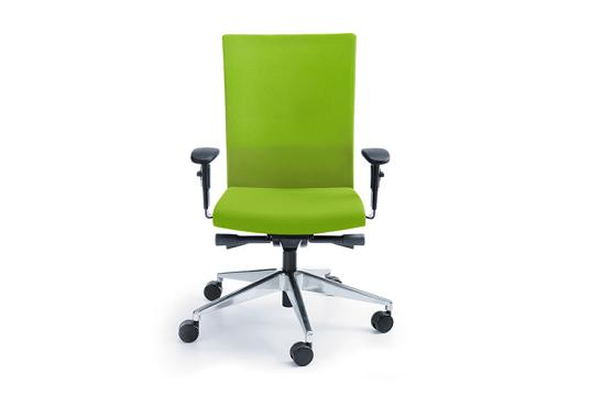 Fotele pracownicze Playa 11SL chrom P45PU