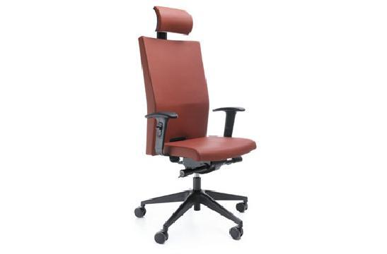 Fotele pracownicze Playa 12SL czarny P45PU