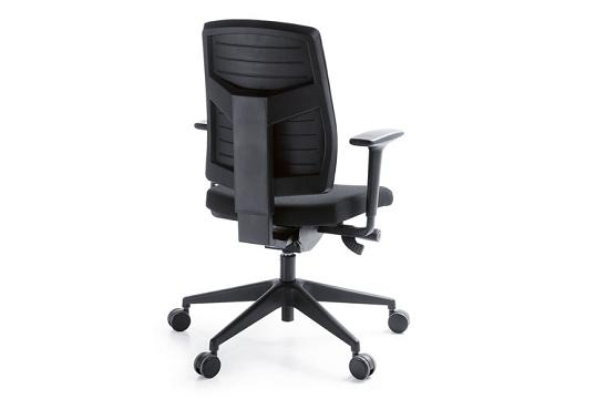 Fotele pracownicze Raya 21SL czarny P51P