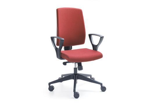 Fotele pracownicze Raya 23E czarny P52PA