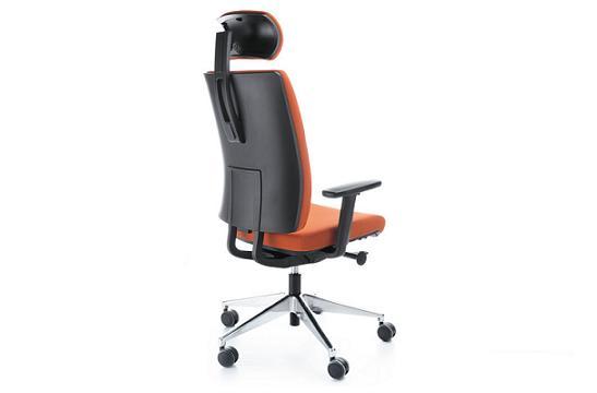 Fotele pracownicze Veris 11 SFL chrom P54PU