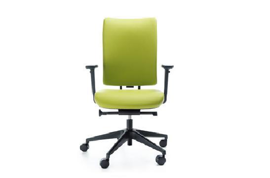 Fotele pracownicze Veris 10 SFL czarny P48PU