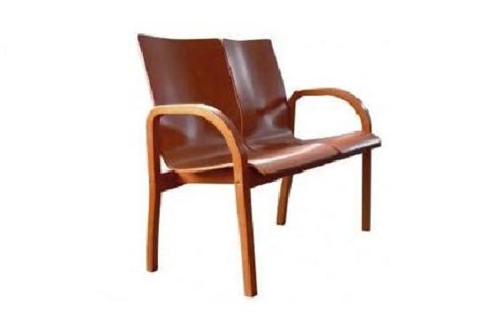 Krzesła biurowe Hubert duo wood