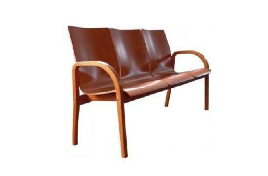 Krzesła biurowe Hubert trio wood