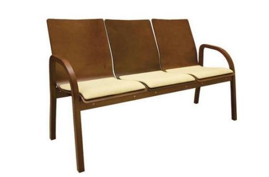 Krzesła biurowe Hubert trio wood NS