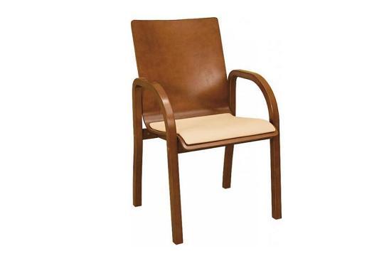 Krzesła biurowe Hubert wood NS