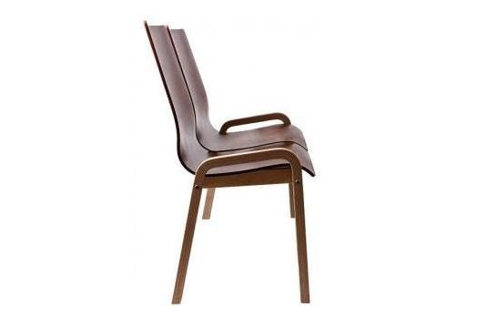 Krzesła biurowe Vega duo wood
