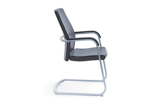 Krzesło konferencyjne Active 21V metalik PU