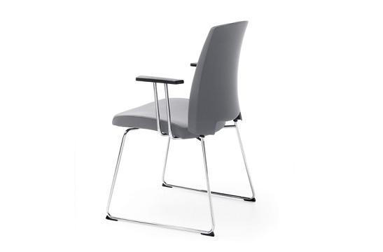 Krzesło konferencyjne Arca 21V chrom PP
