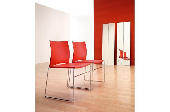 Krzesło konferencyjne Ariz 550 V chrom