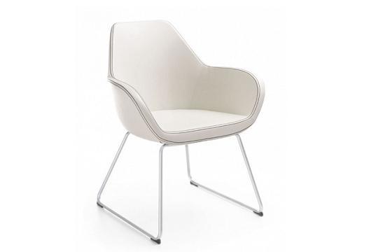 Krzesło konferencyjne Fan 10V metalik