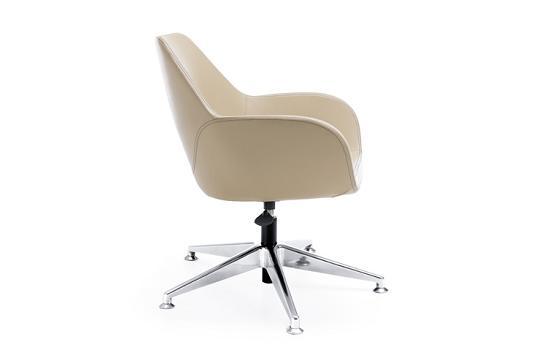 Krzesło konferencyjne Fan 10E chrom stopki
