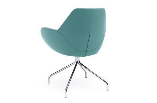 Krzesło konferencyjne Fan 10H chrom