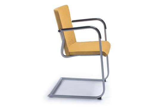 Krzesło konferencyjne Kala 670 V metalik PP