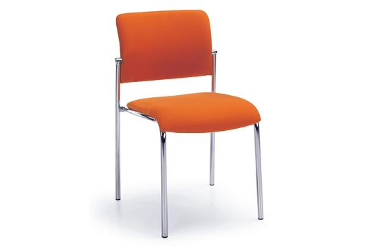 Krzesła konferencyjne Komo H chrom