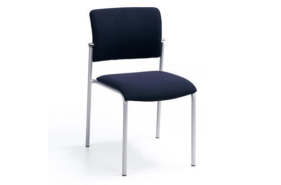Krzesła konferencyjne Komo H metalik