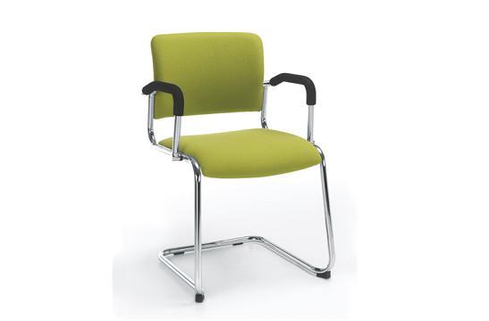Krzesła konferencyjne Komo V chrom 2P