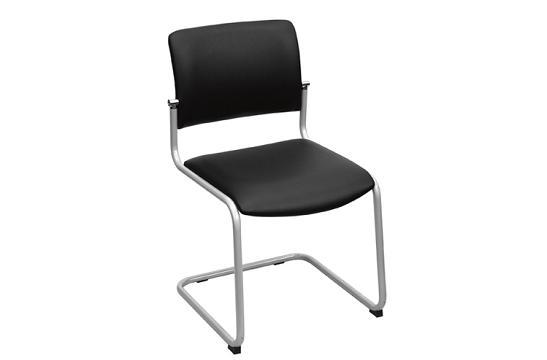 Krzesła konferencyjne Komo VN metalik