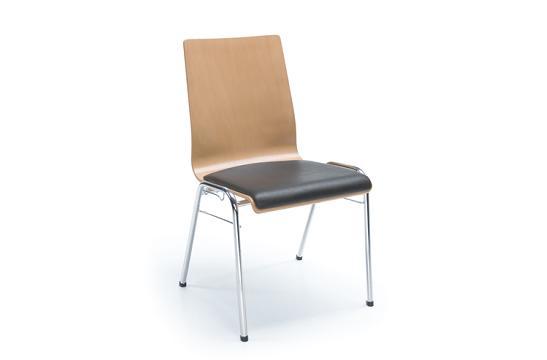 Krzesło konferencyjne Ligo K23H chrom