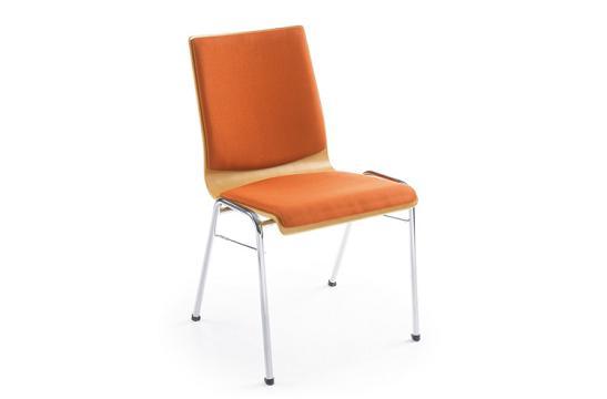 Krzesło konferencyjne Ligo K33H chrom