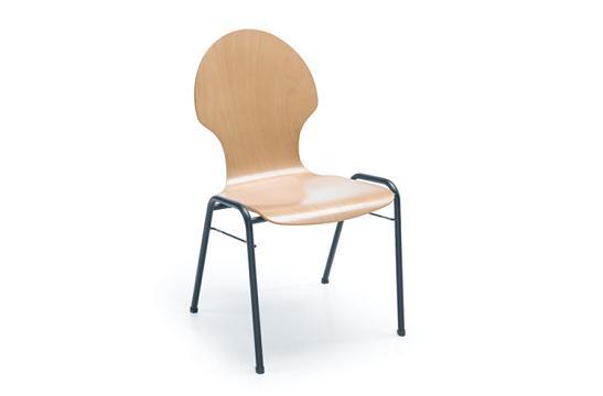 Krzesło konferencyjne Ligo K12H czarny