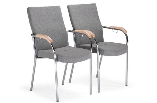 Krzesła konferencyjne Loco 07