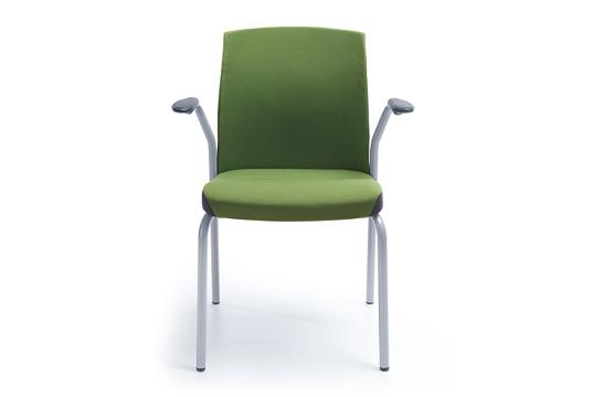 Krzesło konferencyjne One 21H metalik PU
