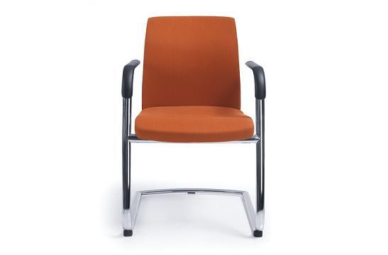 Krzesło konferencyjne One 21V chrom PU