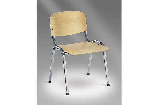 Krzesło konferencyjne Rio chrom sklejka