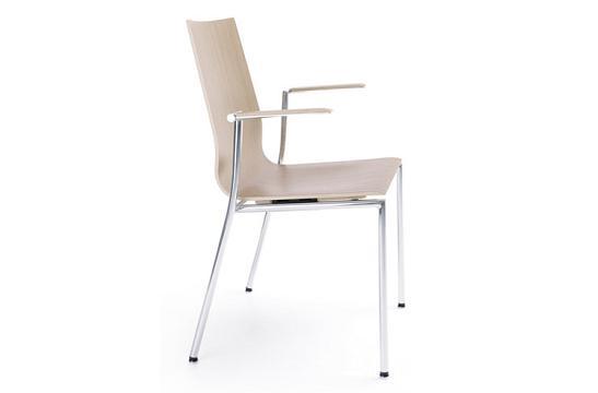 Krzesło konferencyjne Sensi K1H chrom 2P