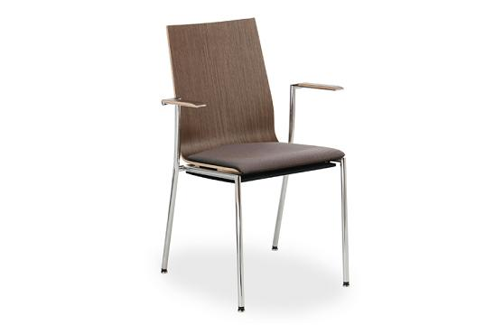 Krzesło konferencyjne Sensi K2H chrom 2P