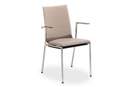 Krzesło konferencyjne Sensi K3H chrom 2P
