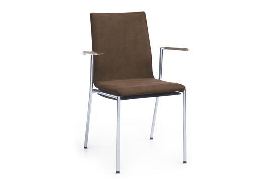 Krzesło konferencyjne Sensi K4H chrom 2P