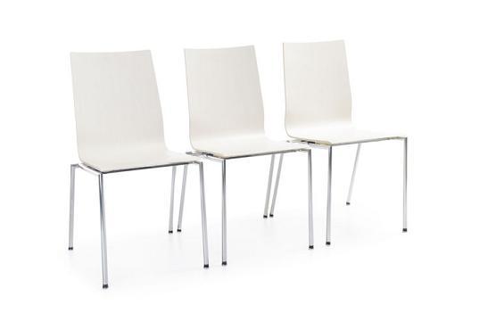 Krzesło konferencyjne Sensi K1H chrom
