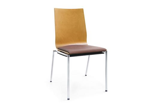 Krzesło konferencyjne Sensi K2H chrom