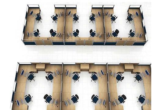 Mobilne ścianki działowe aranżacja 19