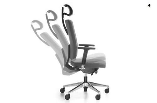 Fotele gabinetowe Mate 04