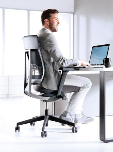 Fotele gabinetowe Xenon Net 01