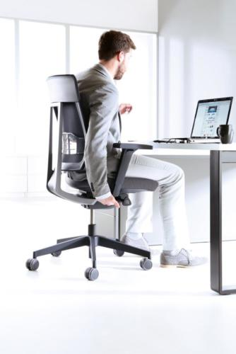 Fotele gabinetowe Xenon Net 04