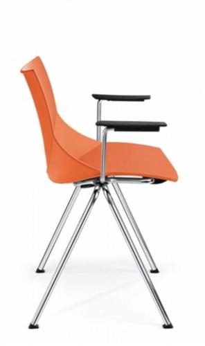 Krzesła konferencyjne Shell 08