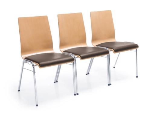 Krzesło ze sklejki Ligo 16