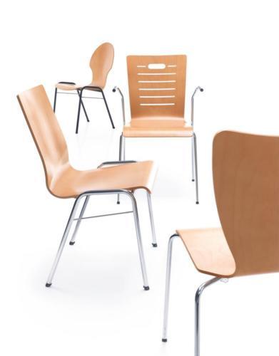 Krzesło ze sklejki Ligo 17